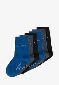 camano - ZBASIC 6 PACK - Socks - navy/jeans - 0