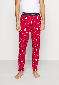 Jack & Jones - JACX MAX LOUNGE PANT - Pyjama bottoms - chili pepper - 0