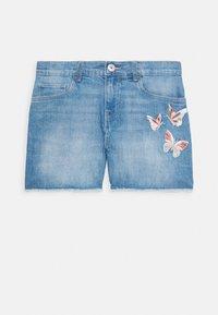 OshKosh - GIRLS TEENS - Szorty jeansowe - denim - 0