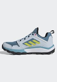 adidas Performance - TERREX AGRAVIC TR - Fjellsko - hazy blue/acid yellow/crystal white - 5