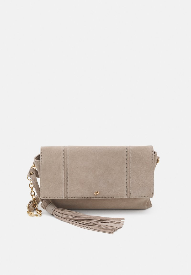 Anna Field - LEATHER - Clutch - taupe
