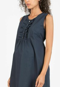 Attesa Maternity - GIULIETTA - Korte jurk - blue - 3