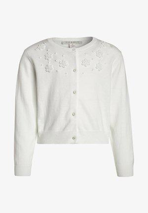 Strickjacke - blanc de blanc