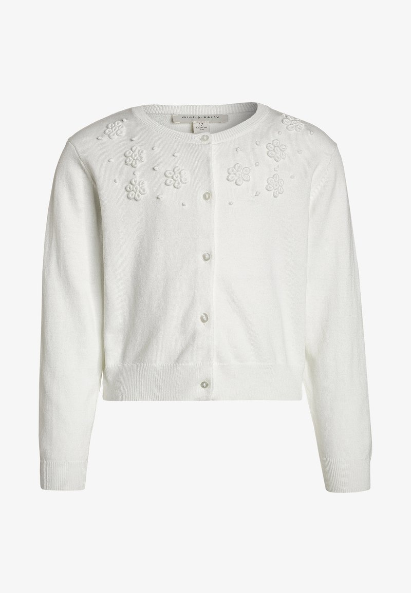 mint&berry girls - Cardigan - blanc de blanc