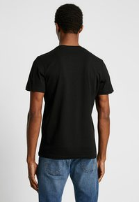 TOM TAILOR - DOUBLE PACK CREW NECK TEE - T-shirt basic - black - 2