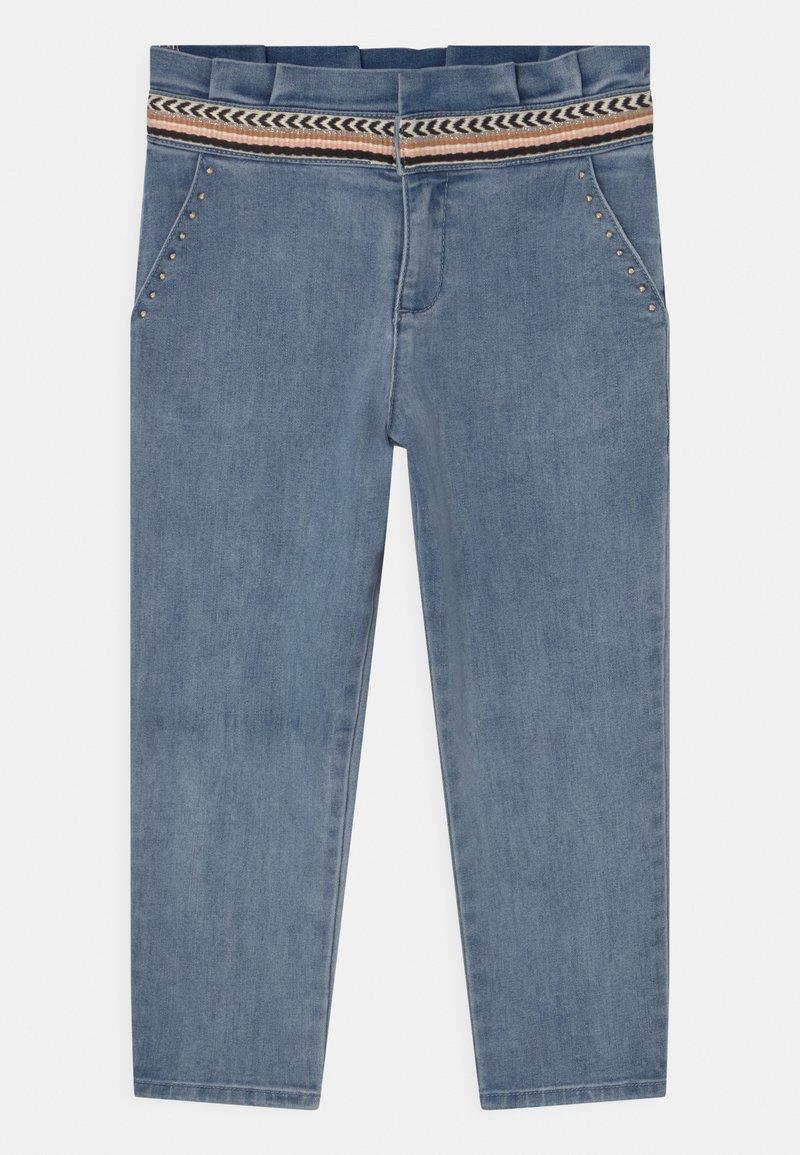 IKKS - SLIM - Relaxed fit jeans - light blue