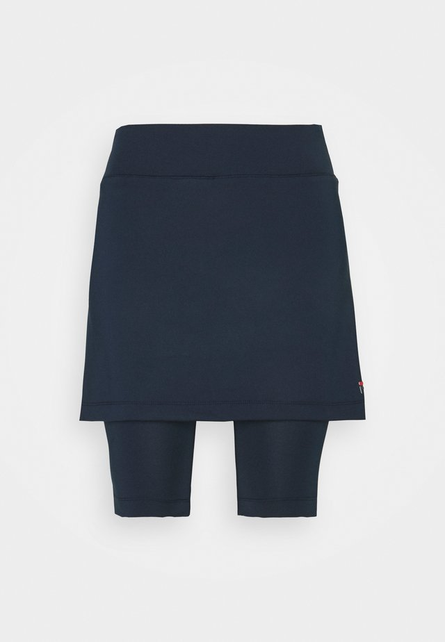 SKORT NELE - Sportovní sukně - peacoat blue