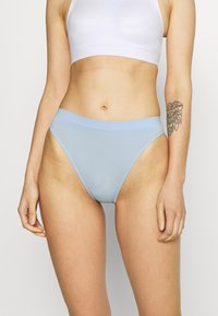 Gilly Hicks - SEAMLESS 3 PACK - Briefs - white/skyway blue/multi-coloured - 4