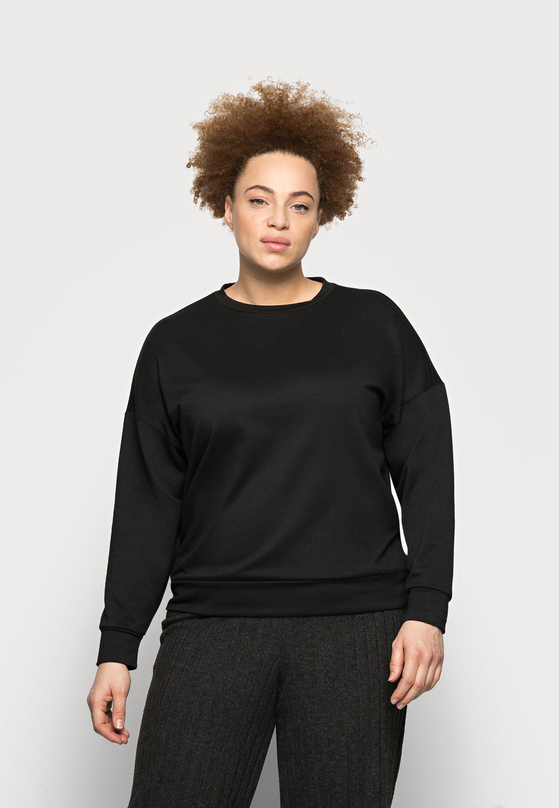 Women PCRELAX BLOUSE CURVE - Sweatshirt