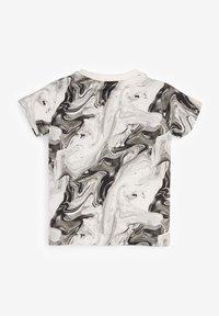 Next - Print T-shirt - black/off-white - 1
