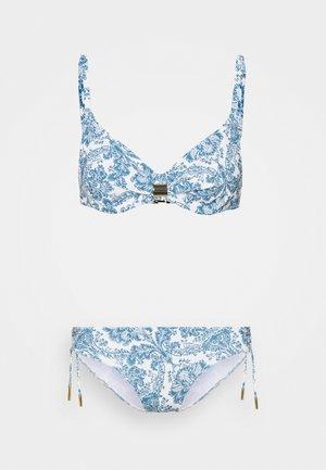 MARYAN PORCELAIN SET - Bikinit - white tile