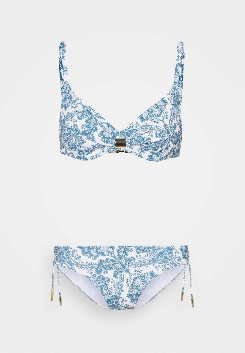 Maryan Mehlhorn - MARYAN PORCELAIN SET - Bikinit - white tile