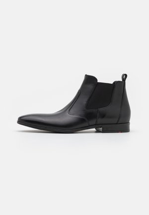 PILOT - Classic ankle boots - schwarz/rot
