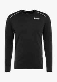 Nike Performance - CREW - T-shirt de sport - black/reflective silver - 3