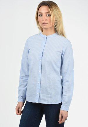 ALEXA - Button-down blouse - light blue