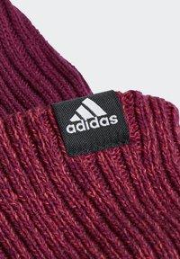 adidas Performance - STRIPES BEANIE - Beanie - purple - 4