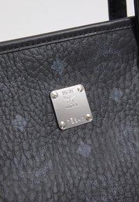 MCM - TONI VISETOS SHOPPER MEDIUM - Tote bag - black - 5