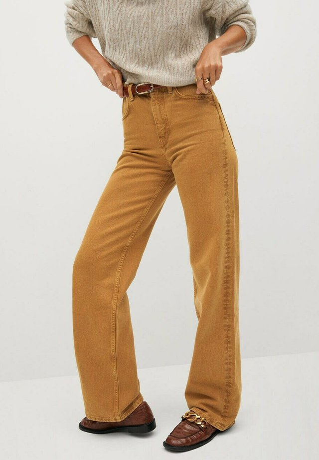 LOLA-I - Jeans a sigaretta - bruin