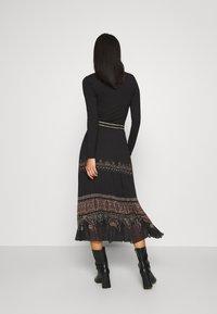 Desigual - FAL MURRAY - A-line skirt - black - 2