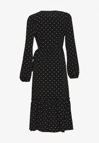 Monki - MARTINA DRESS - Kjole - black dark - 1