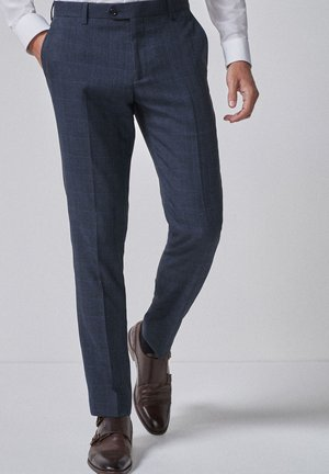 SLIM FIT - Pantaloni eleganti - blue