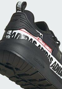 adidas Originals - ZX 2K BOOST SHOES - Trainers - black - 9