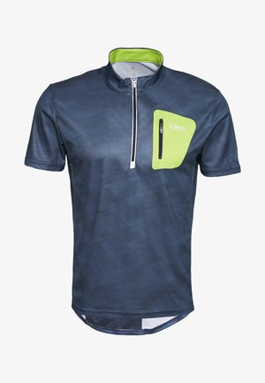 MAN FREE BIKE - Print T-shirt - plutone/cosmo
