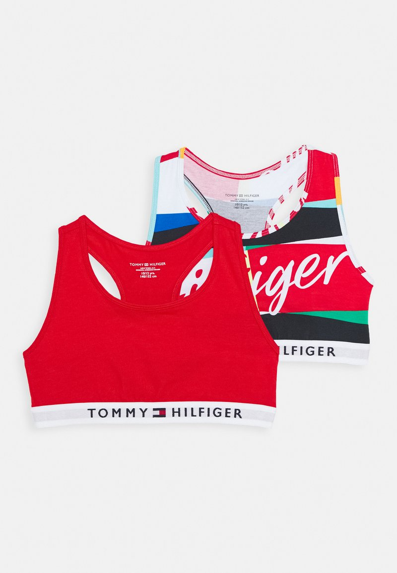 Tommy Hilfiger - BRALETTE 2 PACK - Korzet - twilight navy/deep crimson