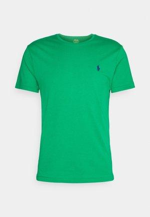 CUSTOM SLIM FIT CREWNECK - T-shirt - bas - billiard