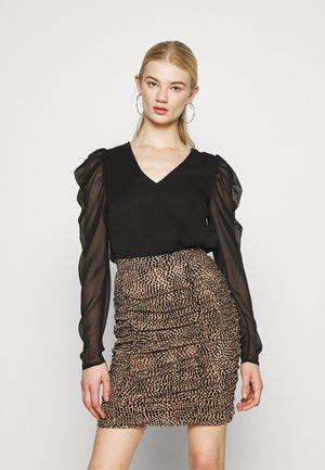 VIELLIAN - Long sleeved top - black