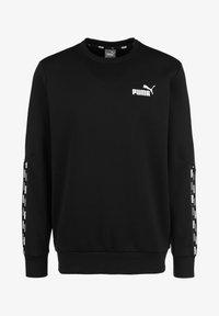 Puma - POWER TAPE CREW - Sweatshirt - puma black - 0