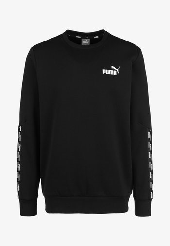 POWER TAPE CREW - Sweatshirt - puma black