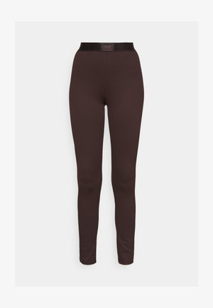 CONNIE - Leggings - Trousers - black coffee