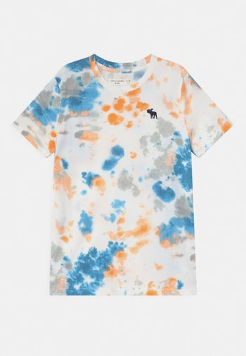 NOVELTY PATTERN  - Print T-shirt - orange