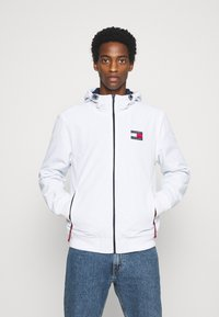 Tommy Jeans - PADDED JACKET - Light jacket - white - 0