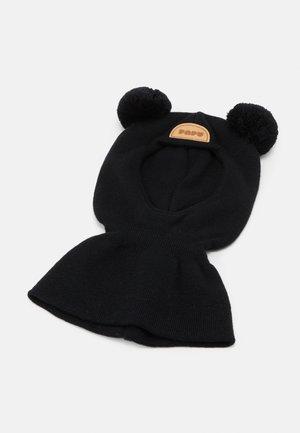BALACLAVA BEANIE UNISEX - Bonnet - black