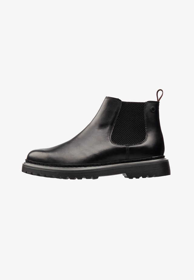 CARDINI WASHED - Bottines - black