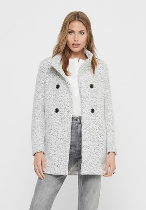 SOPHIA - Classic coat - cloud dancer