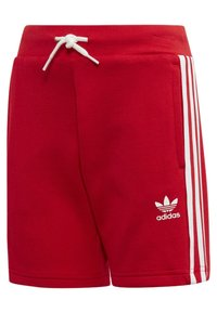 adidas Originals - TREFOIL SHORTS TEE SET - Szorty - red/white - 4