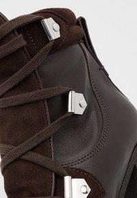 See by Chloé - Kotníková obuv na vysokém podpatku - texan/testa di moro - 6