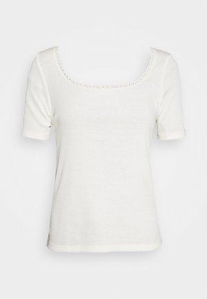 ONLDAISY LIFE - T-shirts - cloud dancer