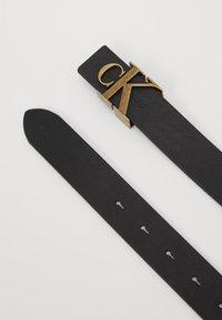 Calvin Klein Jeans - MONO HARDWARE - Belt - black - 0