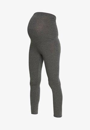 MATERNITY PLAIN - Leggings - Trousers - charcoal