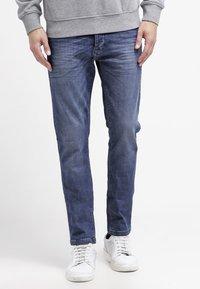 Benetton - Jeans slim fit - blue denim - 0