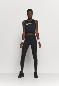 Nike Performance - RUN - Collants - black/silver - 1
