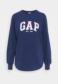 GAP - SHINE TUNIC - Sweatshirt - elysian blue - 0