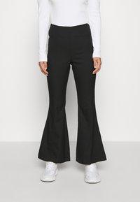 Monki - FIONA  - Trousers - black - 0