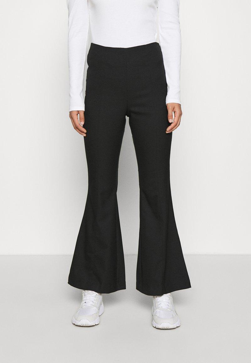 Monki - FIONA  - Trousers - black
