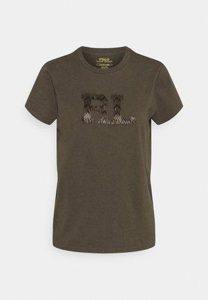 T-shirt imprimé - expedition olive