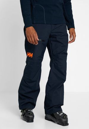 SOGN CARGO PANT - Spodnie narciarskie - navy